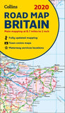 2020 Collins Road Map Britain by Collins Maps