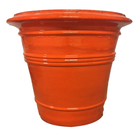 The Dior Planter in Orange
