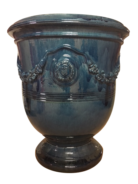 The Anduze Tradition Planter in Blue