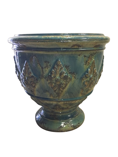 The Louis XVI Cup in Blue Lagoon