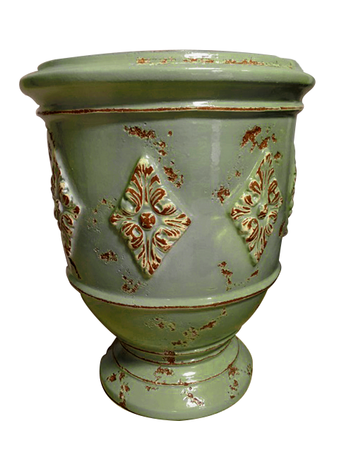 The Anduze Louis XVI Planter in Celadon