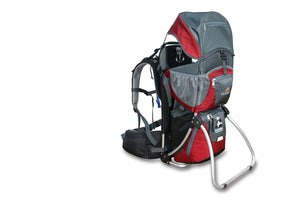 Panda Child Carrier - Cherry Red (front)