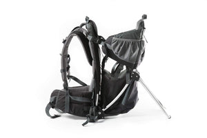 Child Backpack Carrier Pure Black - Panda Child Carrier