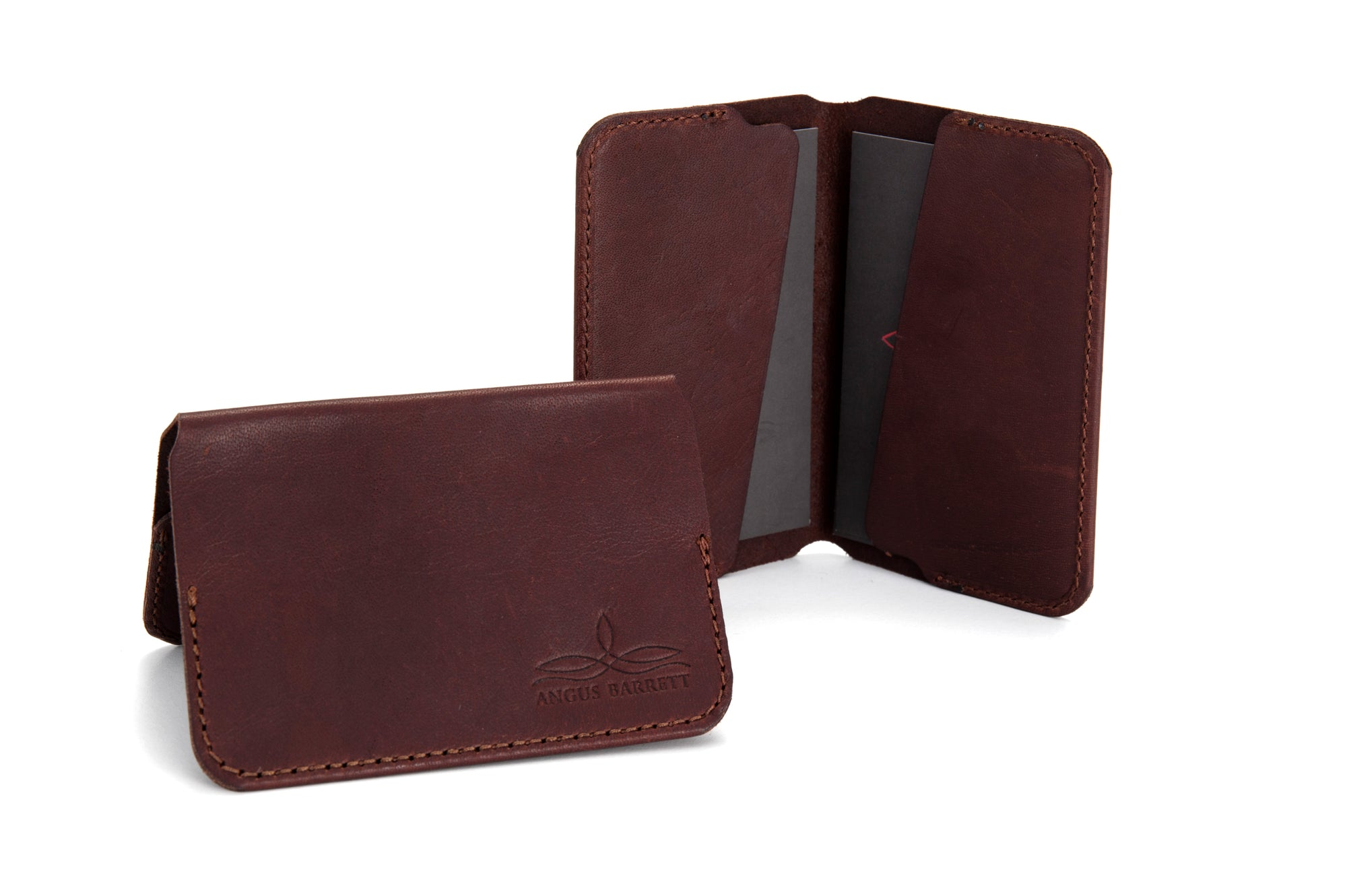 Kangaroo leather card holders