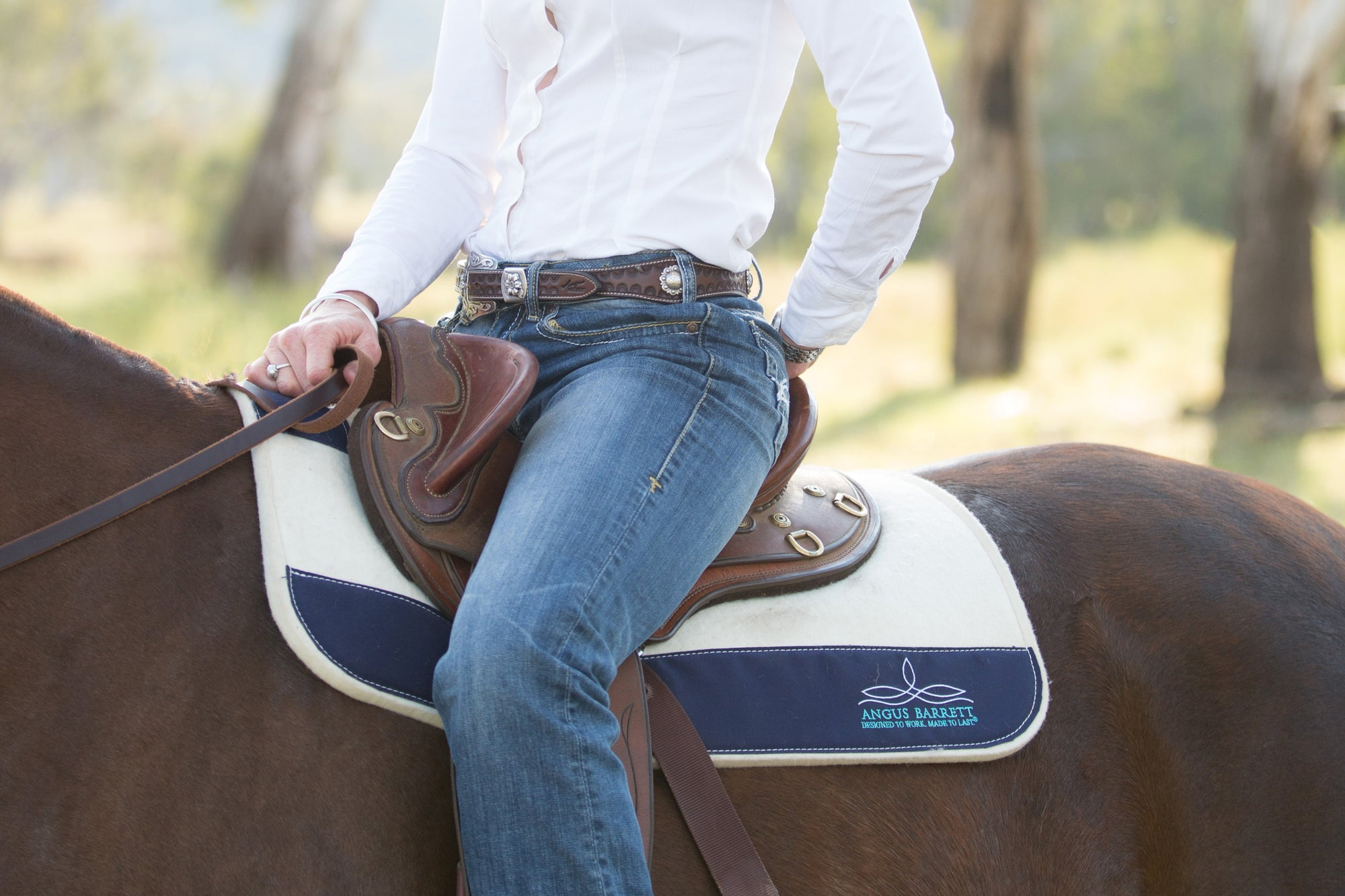Globe Trotting - The saddle pad to rule all saddle pads
