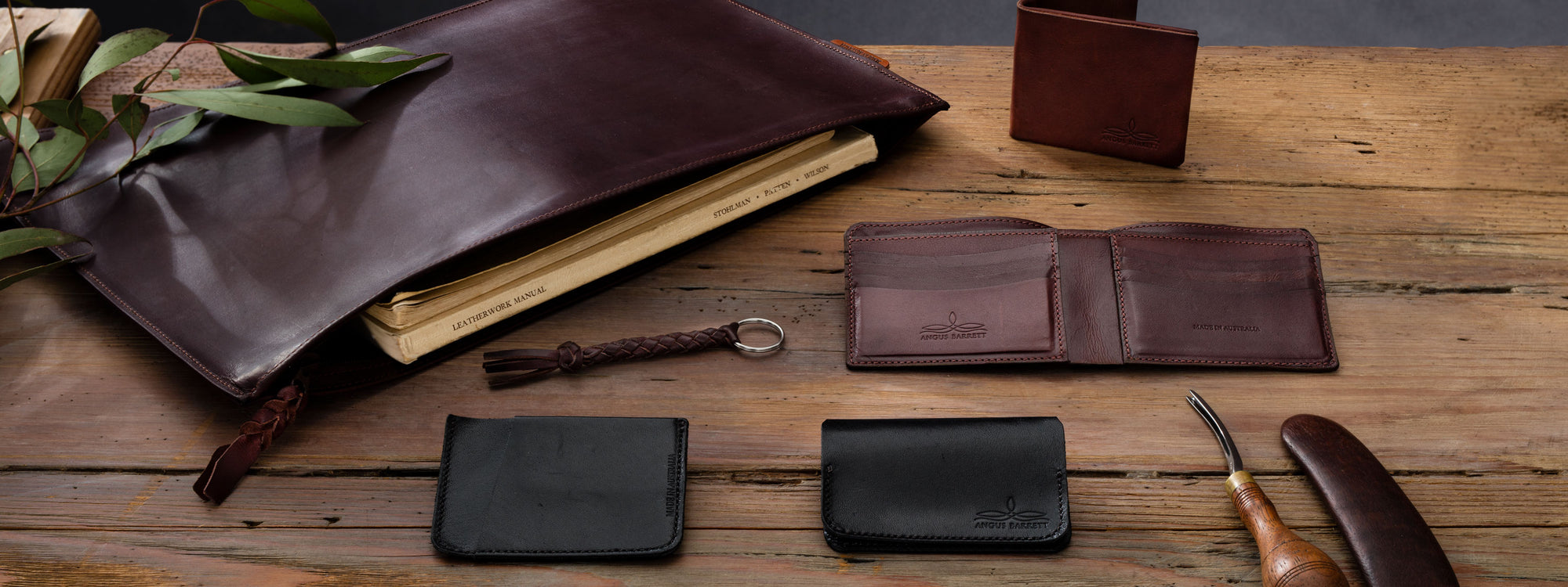 Kangaroo Leather Collection