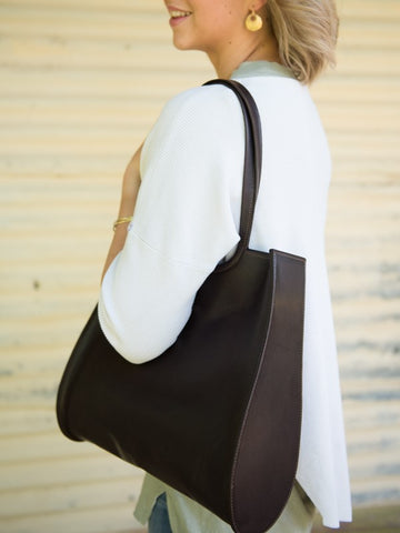 Giovanni Tote Bag in Brown