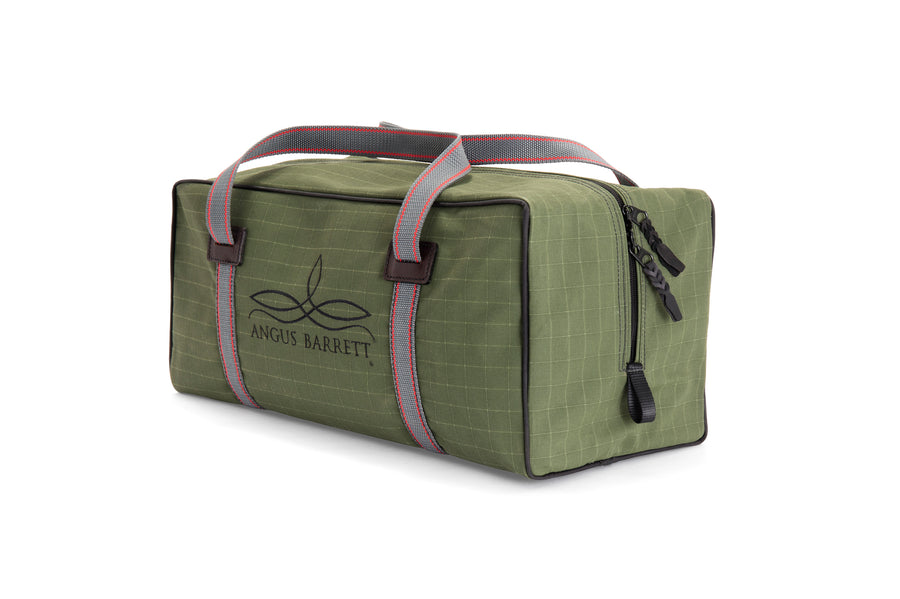 Angus Barrett's Small Canvas Gear Bag in Green