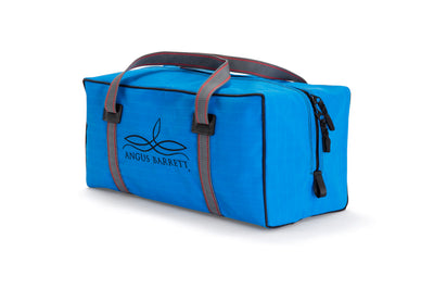 Angus Barrett's Small Canvas Gear Bag in Blue