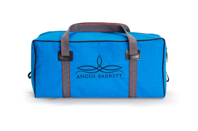 The Angus Barrett Small Canvas Gear Bag in Blue