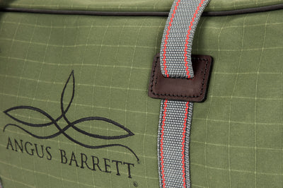 Angus Barrett's Small Canvas Gear Bag has reinforced handles
