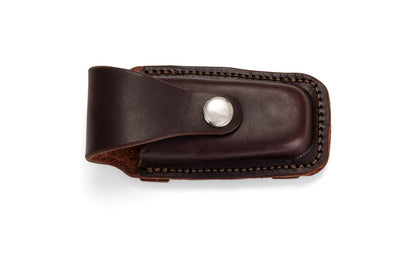 Slide-on Leatherman Pouch - Dark Natural