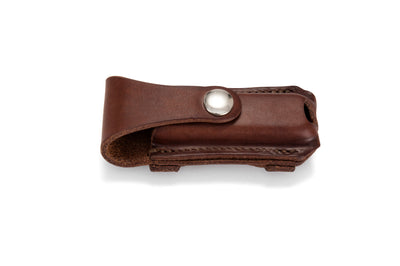 Angus Barrett Button Close Knife Pouch in Natural