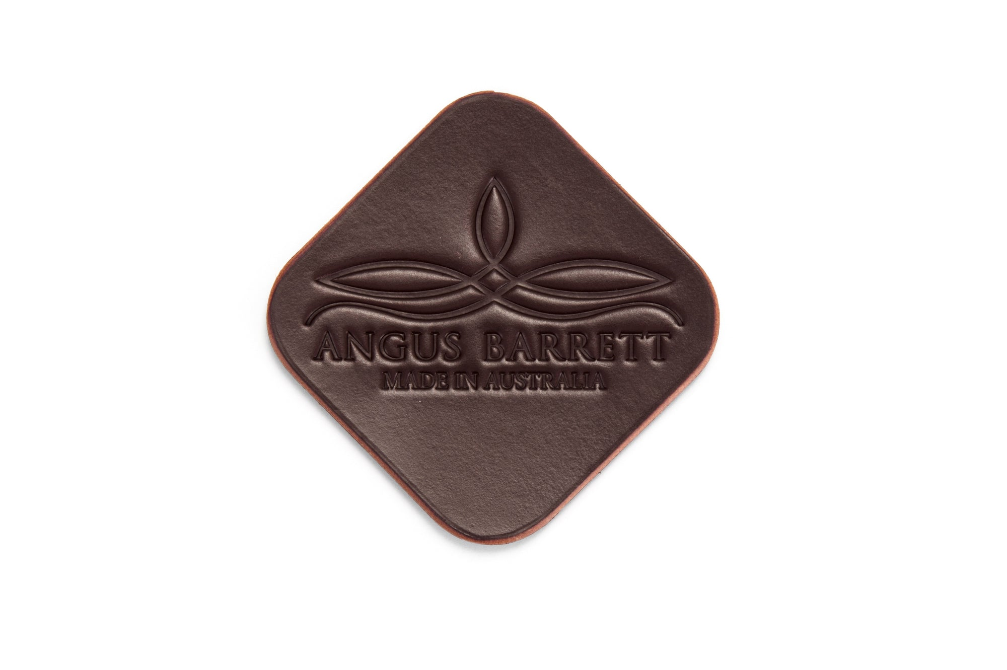 Angus Barrett Coaster with large logo