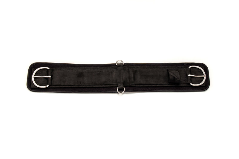 Angus Barrett Straight Girth Set including buckle up latigo, straight girth and girth point
