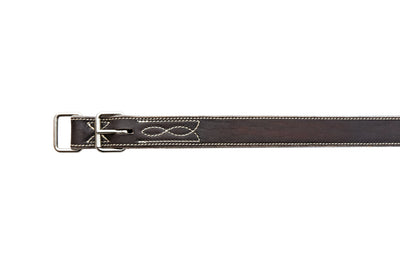 Angus Barrett Front Leg Strap is fully stitched and features solid stainless steel hardware