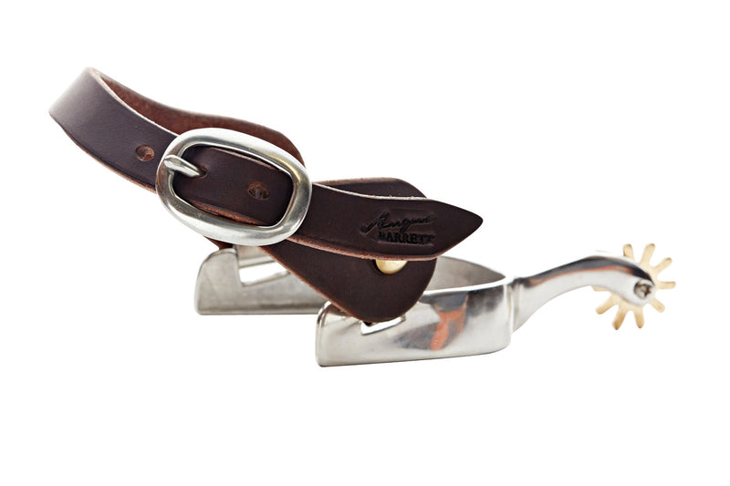 Angus Barrett Station Spur Strap with stainless steel buckle