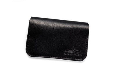 Angus Barrett's Little Yarra Card Holder in Black