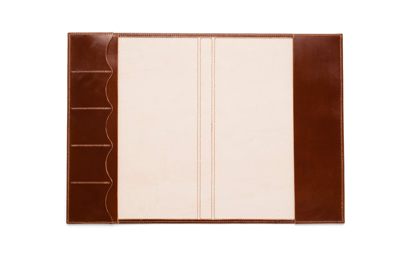 Angus Barrett A4 Diary Cover in Tan