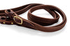 Split French Leather Reins - Brown