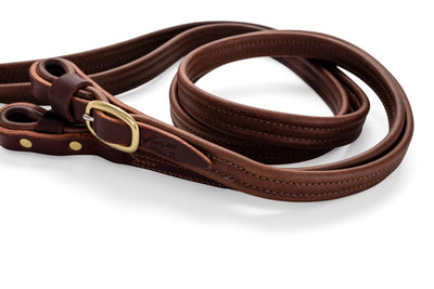 Split French Leather Reins