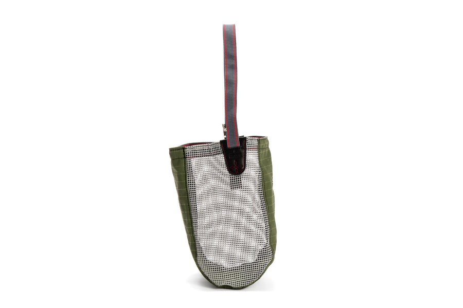 Angus Barrett Nose Bag - Ripstop Canvas with PVC mesh