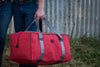 Canvas Gear Bag - Medium - Red