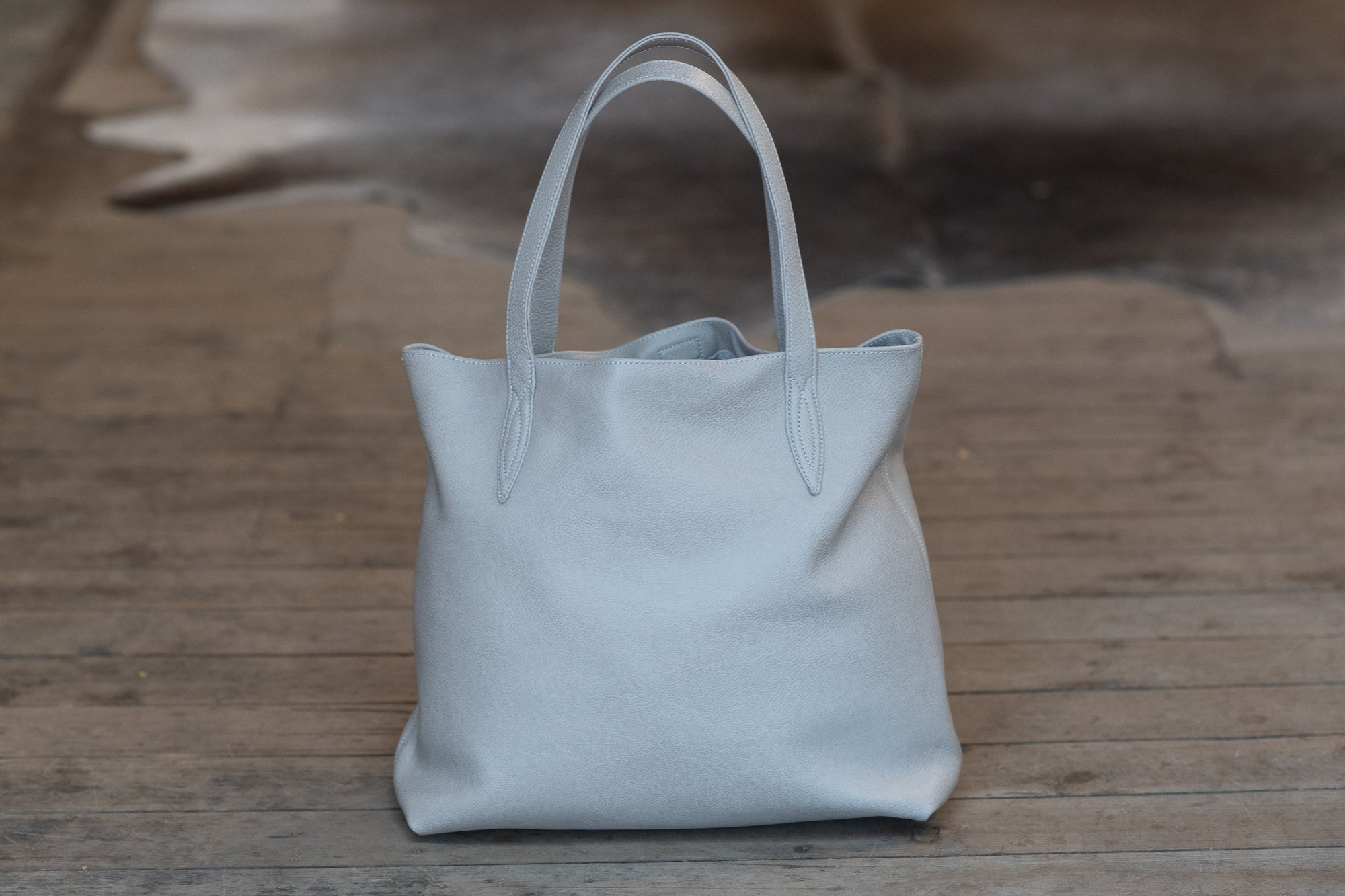 Annabella Tote Bag - Grey