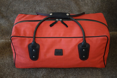Weekender Bag - Red Canvas