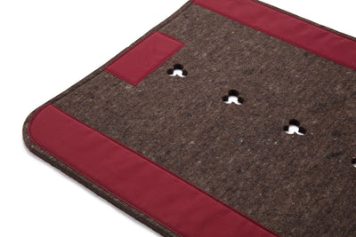 Pure Wool Saddle Pad - Classic Long
