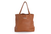 Annabella Leather Tote Bag in Caramel