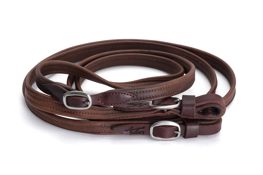 Joined French Leather Reins