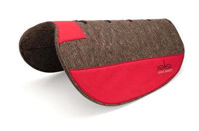 Pure Wool Saddle Pad - Fitted Slimline