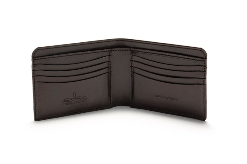 Classic Bi-Fold Wallet - Dark Brown