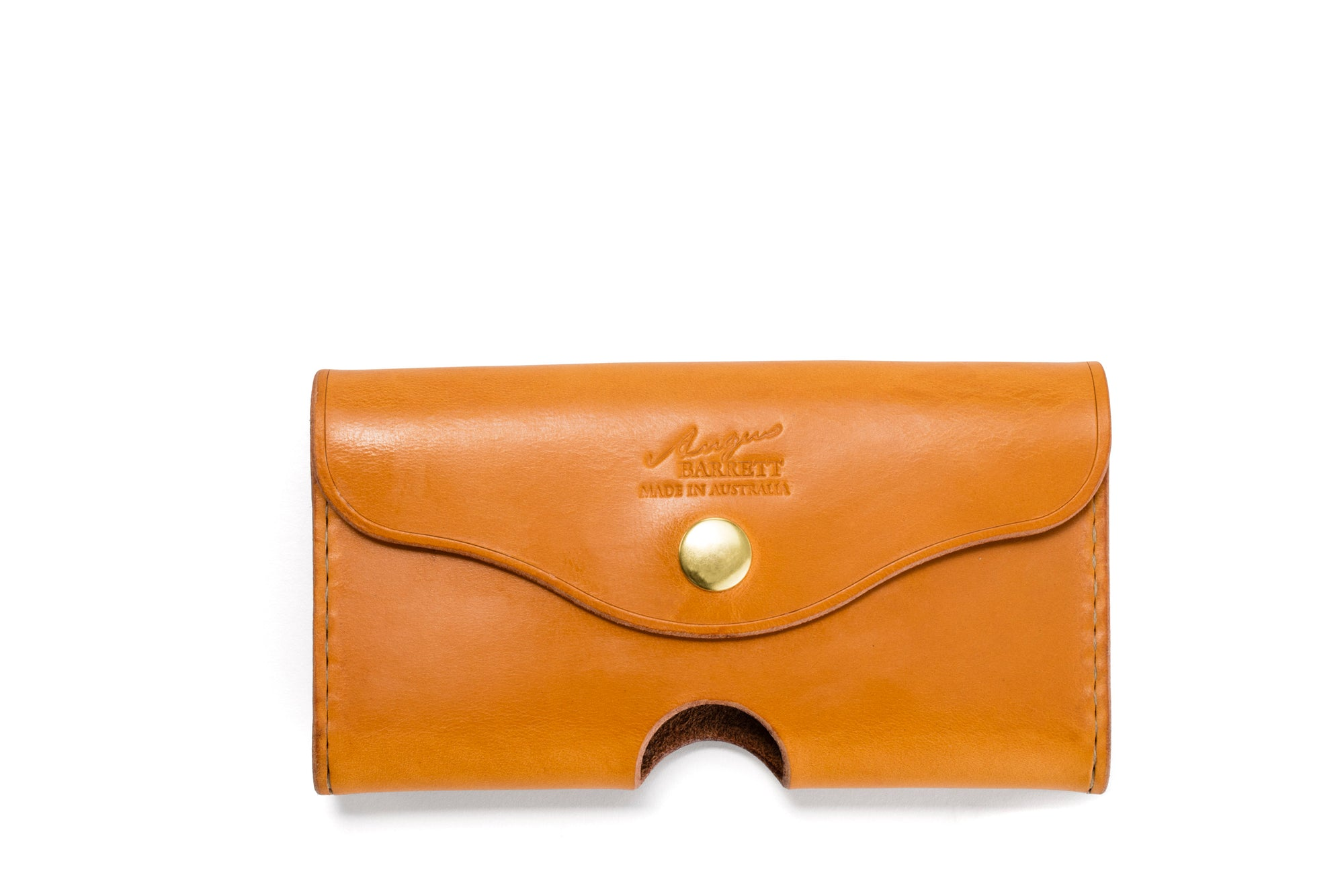 Angus Barrett Phone Pouch in Gold