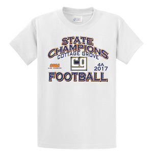 OSAA TBD State Champion Football Cottage Grove 4A