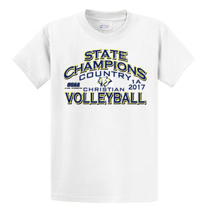 Volleyball State Champion 1A 2017