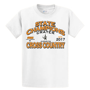 Cross Country 2017 State Champions 5A Boys