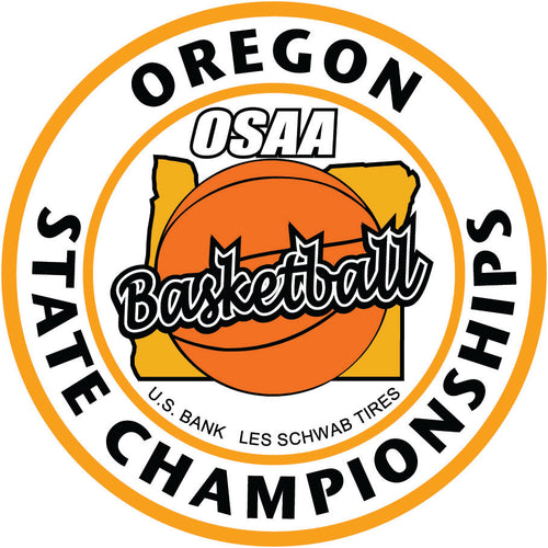 Basketball Embroidered Patch OSAA State Championships