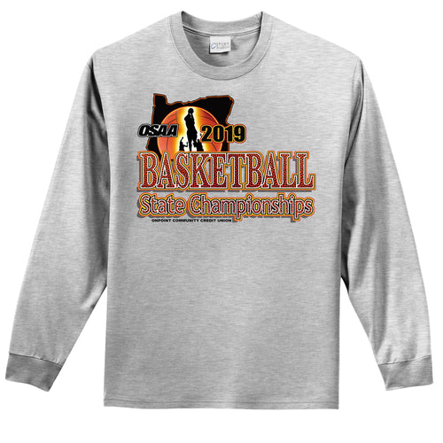Basketball State Championships long sleeve tee 2019