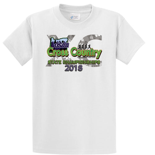 Cross Country 2018 State Championship Tee