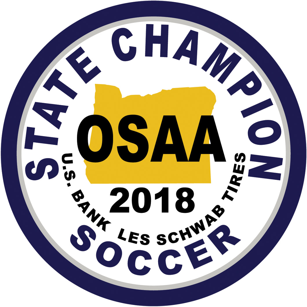 Soccer State Champion patch