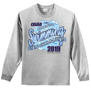 Swimming State Championships Long Sleeve Tee