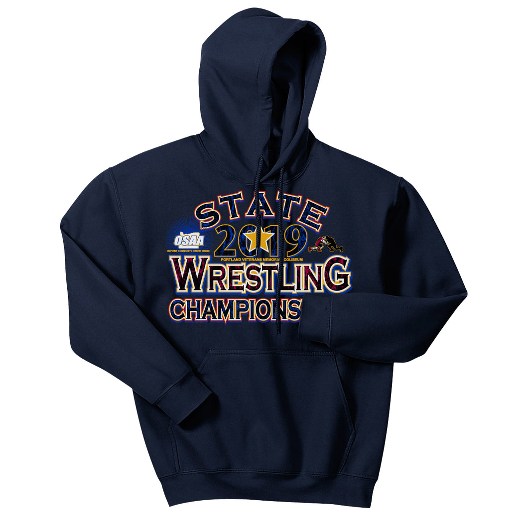 Wrestling State Championships Hooded Sweatshirt
