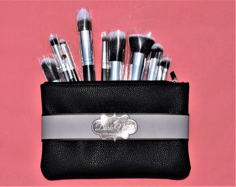 Beauty Creations 12 Piece Brush Set - Dark Night