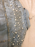 Pearls Jean Jacket