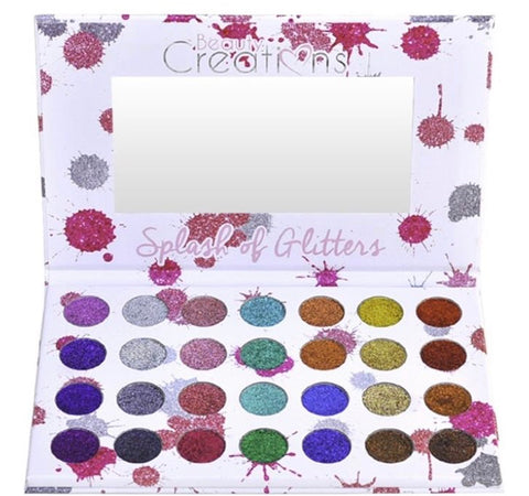 Splash of Glitters Palette