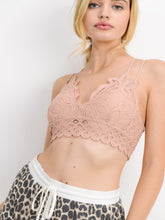 Strappy Lace Bralette | Blush
