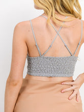 RESTOCKED! 'So Into You' Strappy Lace Bralette | Grey