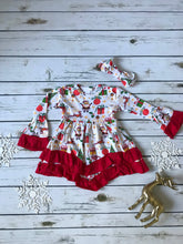 Santa Ruffle Dress